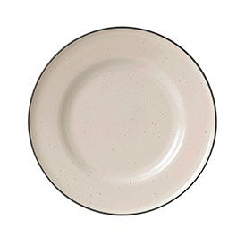 Gordon Ramsay Union Street Cafe Cream Plate 22cm