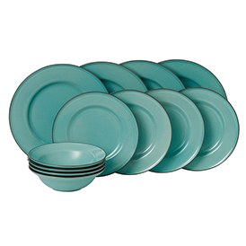 Gordon Ramsay Union Street Cafe Blue 12 Piece Set