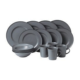 Gordon Ramsay Union Street Cafe Grey 16 Piece Set