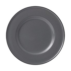 Gordon Ramsay Union Street Cafe Grey Plate 22cm