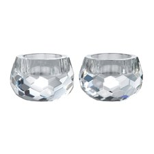 Royal Doulton Radiance Hexagonal Tea light pair 6cm