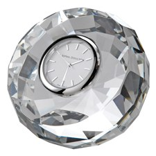 Royal Doulton Radiance Hexagonal Round clock 7.5cm