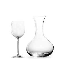 Royal Doulton Glass Sets Carafe & Wine Set Of 6