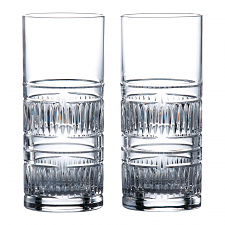 Royal Doulton R&D Collection Radial Highball Pair