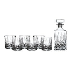 Royal Doulton Earlswood Decanter Set: Decanter & 6 Tumblers