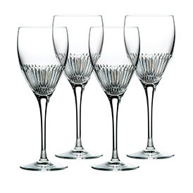 Royal Doulton Calla Crystal Goblet Set of 4