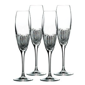 Royal Doulton Calla Crystal Flute Set of 4