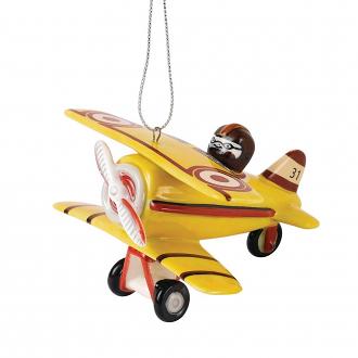 Christmas Ornament Aeroplane