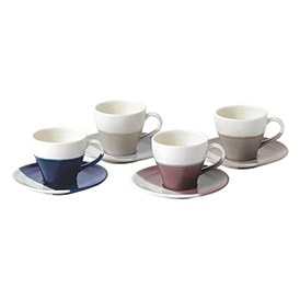 Coffee Studio Espresso Cup & Server 110ml (Set of 4)