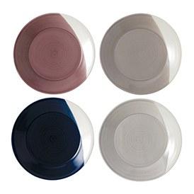 Bowls of Plenty Plates 23cm (Set of 4)