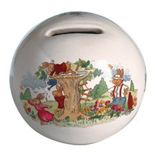 Royal Doulton Bunnykins Money Ball