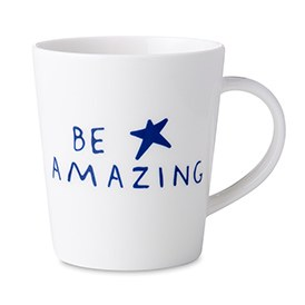 ED Ellen DeGeneres Crafted by Royal Doulton - Be Amazing Star Mug 450ml