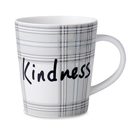 ED Ellen DeGeneres Crafted by Royal Doulton - Kindness Plaid Mug 450ml