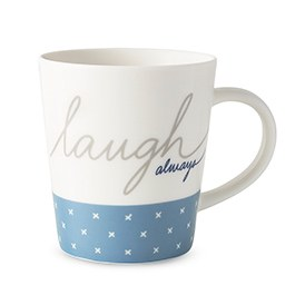 ED Ellen DeGeneres collection - Mug Laugh Always 450ml