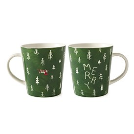 ED Ellen DeGeneres collection - Merry Mug 450ml