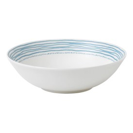 ED Ellen DeGeneres Crafted by Royal Doulton Bowl 20cm Polar Blue Dots
