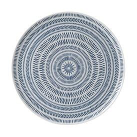 ED Ellen DeGeneres - Platter 32cm Cobalt Blue Chevron