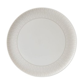 ED Ellen DeGeneres Crafted by Royal Doulton Platter 32cm Taupe Stripe
