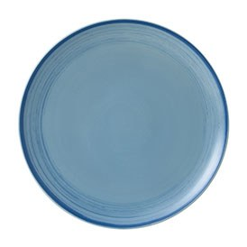 ED Ellen DeGeneres crafted by Royal Doulton collection - Plate 28cm Brushed Glaze Polar Blue