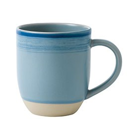 ED Ellen DeGeneres crafted by Royal Doulton collection - Mug 430ml Brushed Glaze Polar Blue