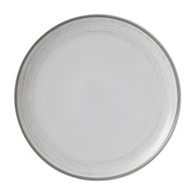 ED Ellen DeGeneres collection - Plate 28cm Brushed Glaze Soft White