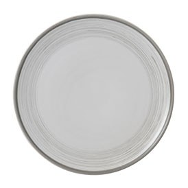 ED Ellen DeGeneres collection - Plate 21cm Brushed Glaze Soft White
