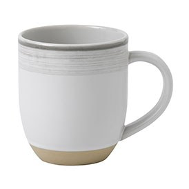 ED Ellen DeGeneres crafted by Royal Doulton collection - Mug 430ml Brushed Glaze Soft White