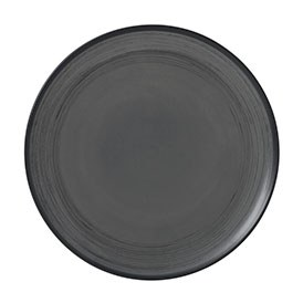ED Ellen DeGeneres crafted by Royal Doulton collection - Plate 21cm Brushed Glaze Charcoal Grey