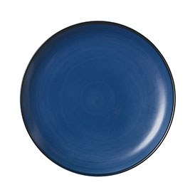 ED Ellen DeGeneres crafted by Royal Doulton collection - Plate 28cm Brushed Glaze Cobalt Blue