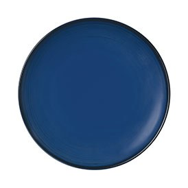 ED Ellen DeGeneres crafted by Royal Doulton collection - Plate 21cm Brushed Glaze Cobalt Blue
