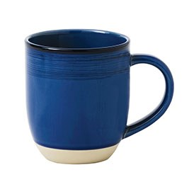 ED Ellen DeGeneres crafted by Royal Doulton collection - Mug 430ml Brushed Glaze Cobalt Blue