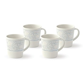 ED Ellen DeGeneres crafted by Royal Doulton Polar Blue Accents - Mug 450ml Set of 4