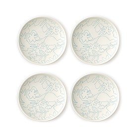 ED Ellen DeGeneres crafted by Royal Doulton Polar Blue Accents - Plate 16cm Set of 4