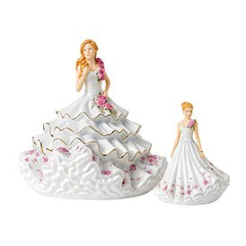 Royal Doulton 2017 Figure of the Year Victoria HN 5829