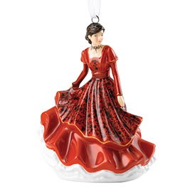 Royal Doulton Christmas Ornaments Joy to World HN 5865