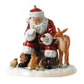Royal Doulton 2017 Father Christmas Woodland Christmas