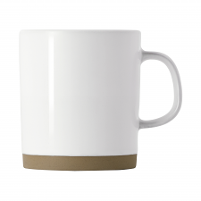 Olio White 300ml Mug by Barber Osgerby