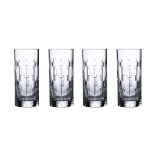 Abacus Nouveau Highball Set of 4