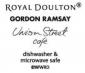 Gordon Ramsay Union Street Cafe Cream 16 Piece Set