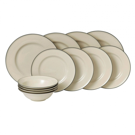 Gordon Ramsay Union Street Cafe Cream 12 Piece Set