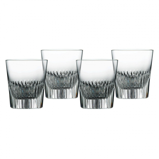 Calla Crystal Tumbler Set of 4