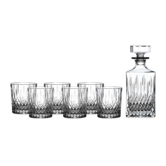 Earlswood Decanter Set: Decanter & 6 Tumblers