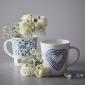 ED Ellen DeGeneres collection Mug Blue Heart 450ml
