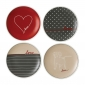 ED Ellen DeGeneres collection - Plate 16cm Signature Set of 4