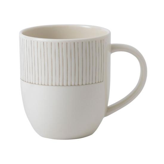 ED Ellen DeGeneres Mug 430ml Taupe Stripe