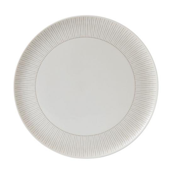 ED Ellen DeGeneres Platter 32cm Taupe Stripe
