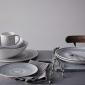 ED Ellen DeGeneres Pasta Bowl 24cm Charcoal Grey Lines