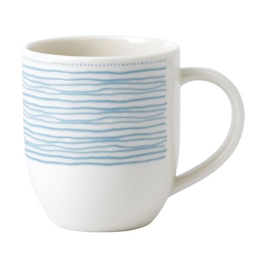ED Ellen DeGeneres Mug 430ml Polar Blue Dots