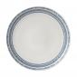 ED Ellen DeGeneres - Plate 28cm Cobalt Blue Chevron