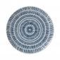 ED Ellen DeGeneres - Plate 21cm Cobalt Blue Chevron